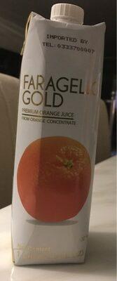 Premium orange juice - Produit