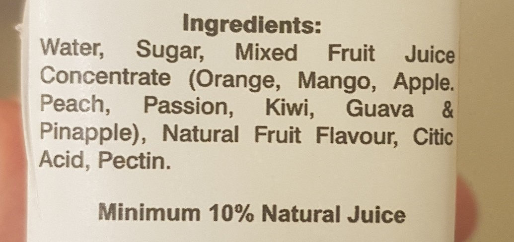 Cocktail drink - Ingredients - en
