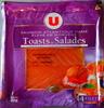 Toasts & Salades (Saumon fumé Atlantique élévé en Norvège) - Product