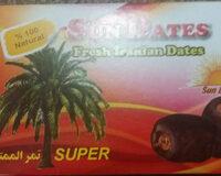 Sun Dates Fresh Iranian Dates - Product - en