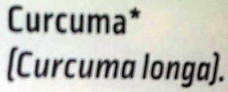 Curcuma moulu - Ingrediënten