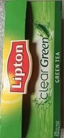 Lipton Clear Green Tea - Produit - fr
