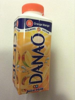 Danao - juice milk - orange mango - Product - en