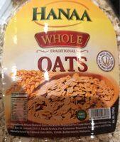 Whole oats hanna - Produit - en