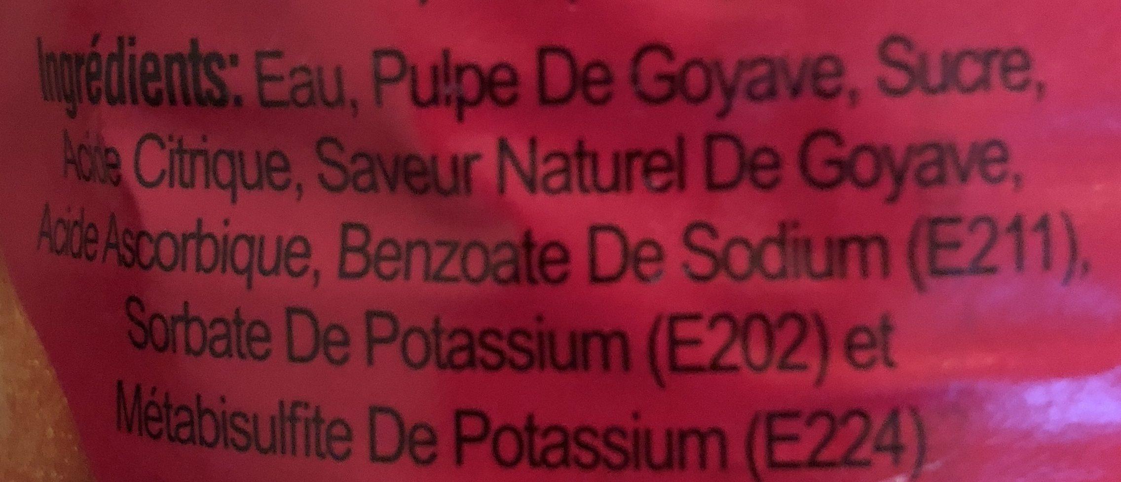 Goyave genial - Ingredients