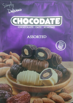 Assorted Chocolate Date Almond - Product