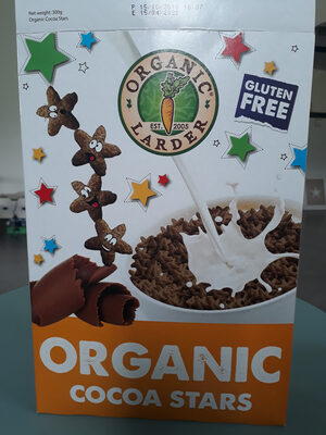 organic cocoa stars - Product