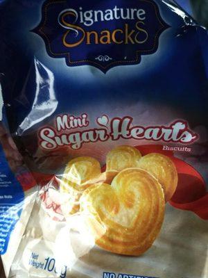 Mini Sugar Hearts Biscuits - Produit