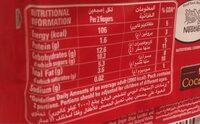 Nestle Kitkat 4 Fingers Chocolate - Voedingswaarden - en