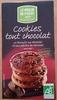 Cookies tout chocolat - Produit