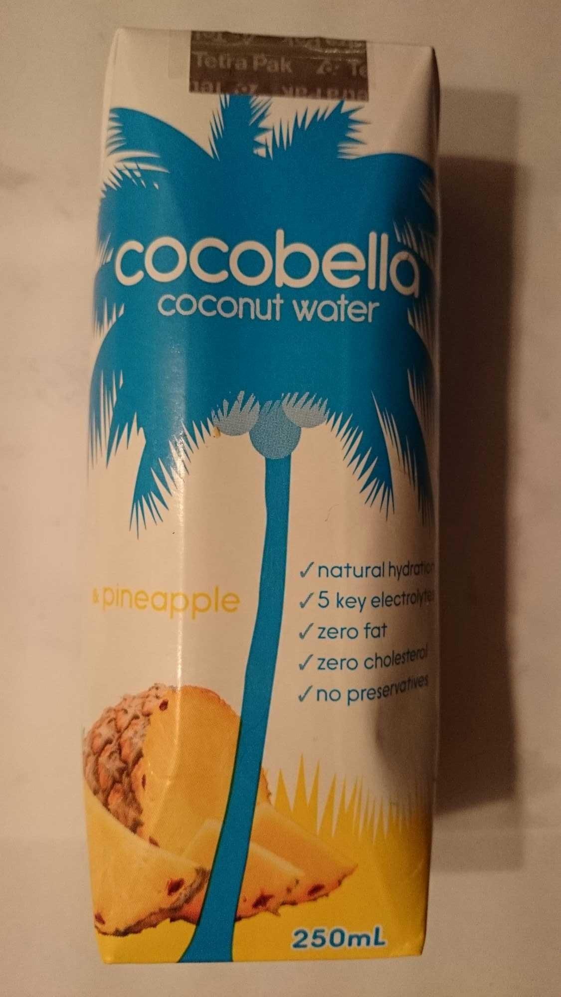 Cocobella Coconut Water Pineapple - Product - en