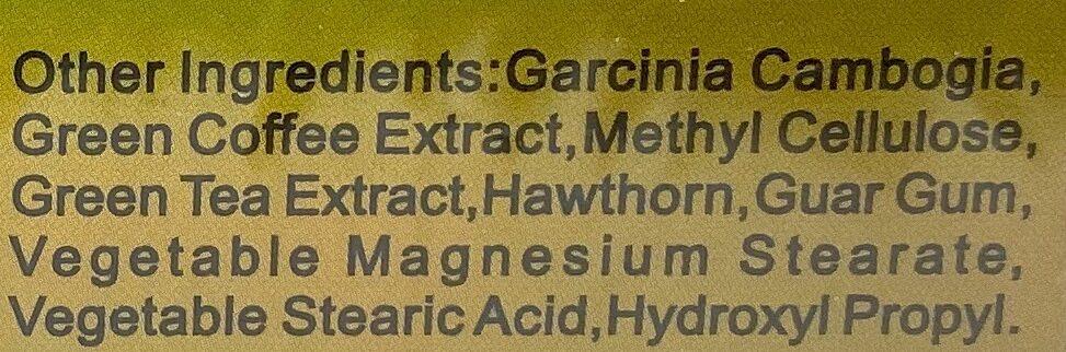 Harva German capsules natural Weight Loss support 400 ml 30 Capsule - Ingredients - en