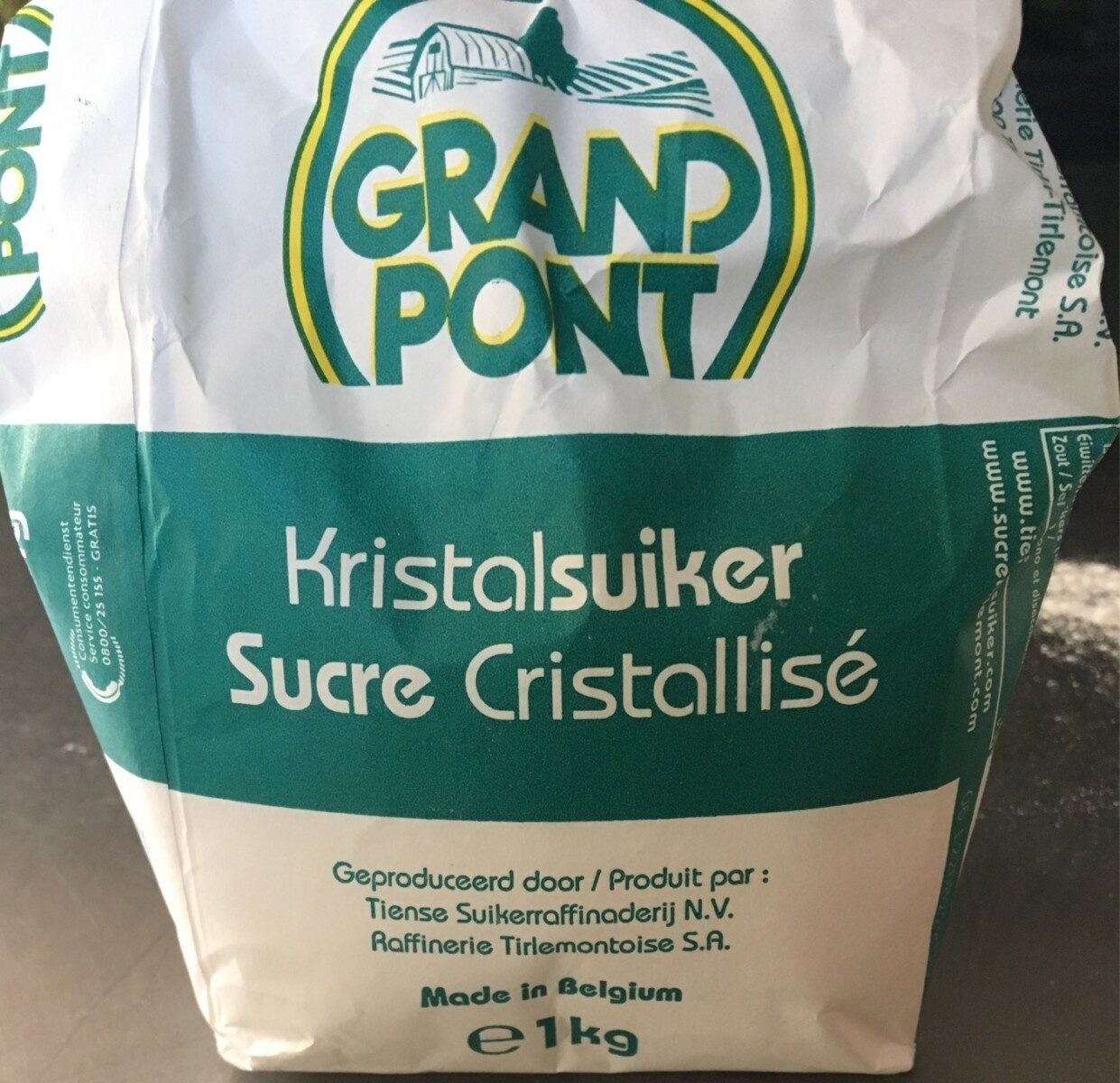 Sucre cristallisé - Produit - fr
