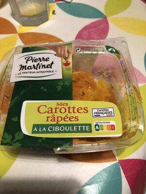 Mes carottes râpées à la ciboulette - Produit - fr