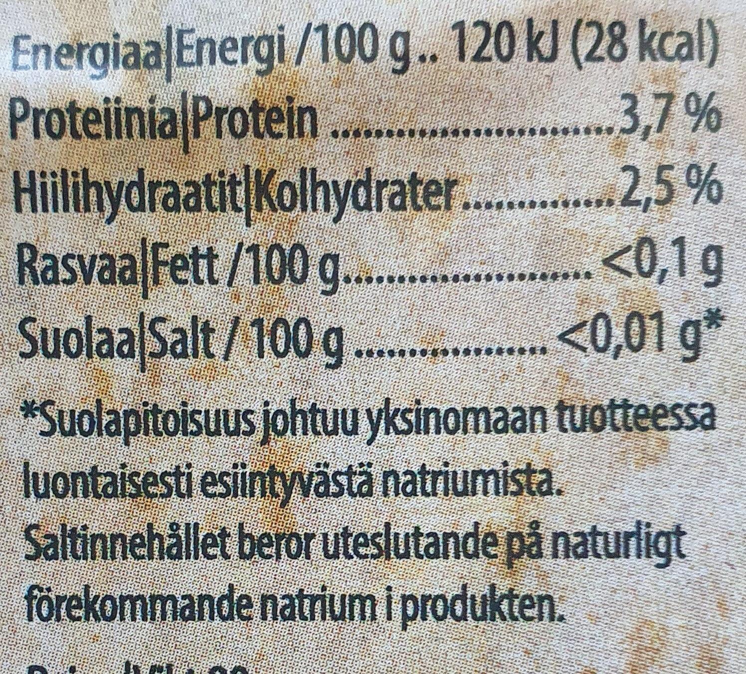 Proteiini-salaatti - Informations nutritionnelles - fi