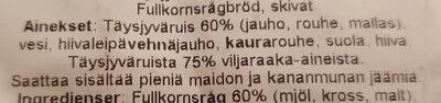 Lapin Jääkäri - Ingrédients - fi