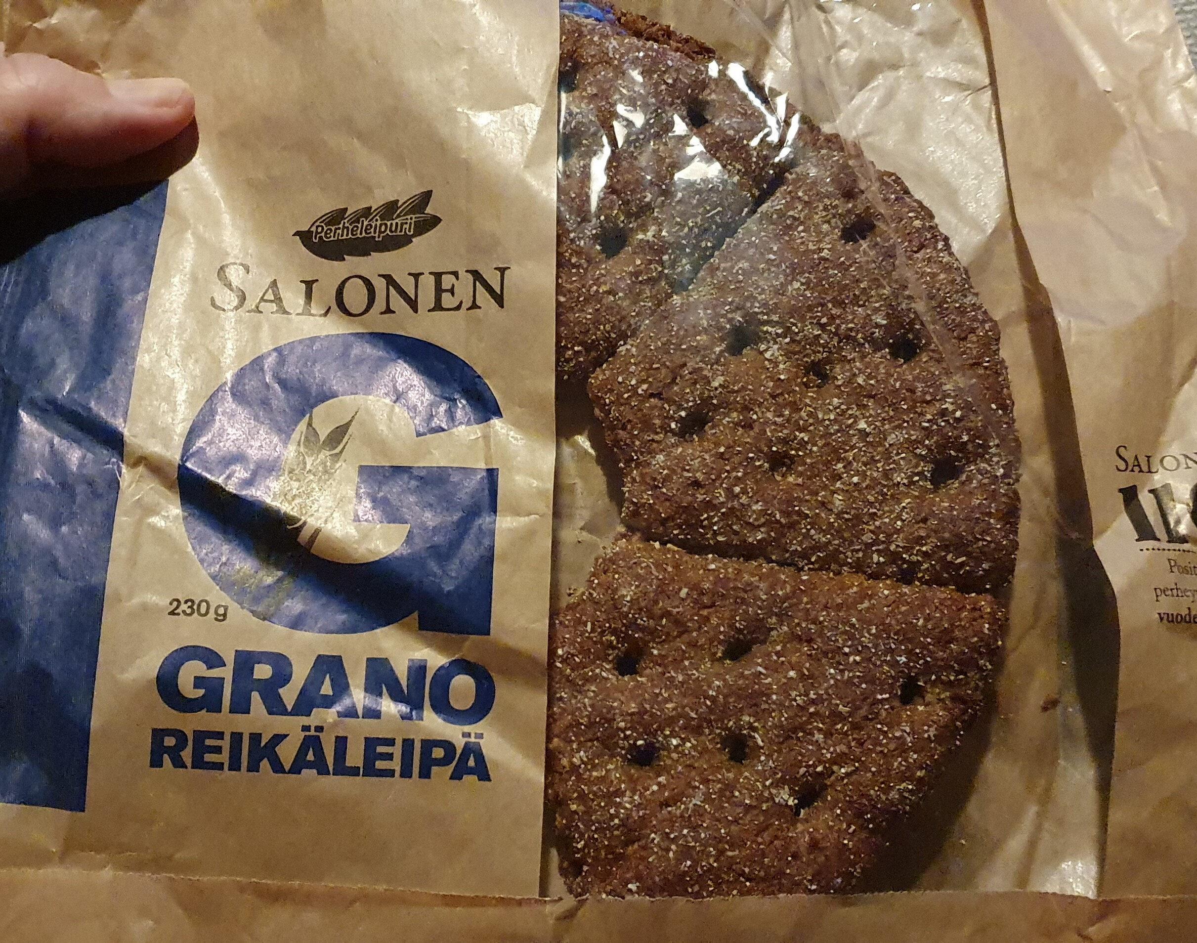 Grano Reikäleipä - Produit - fi