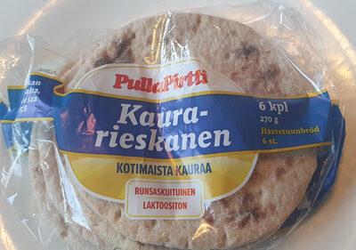 Kaura-rieskanen - Produit - fi