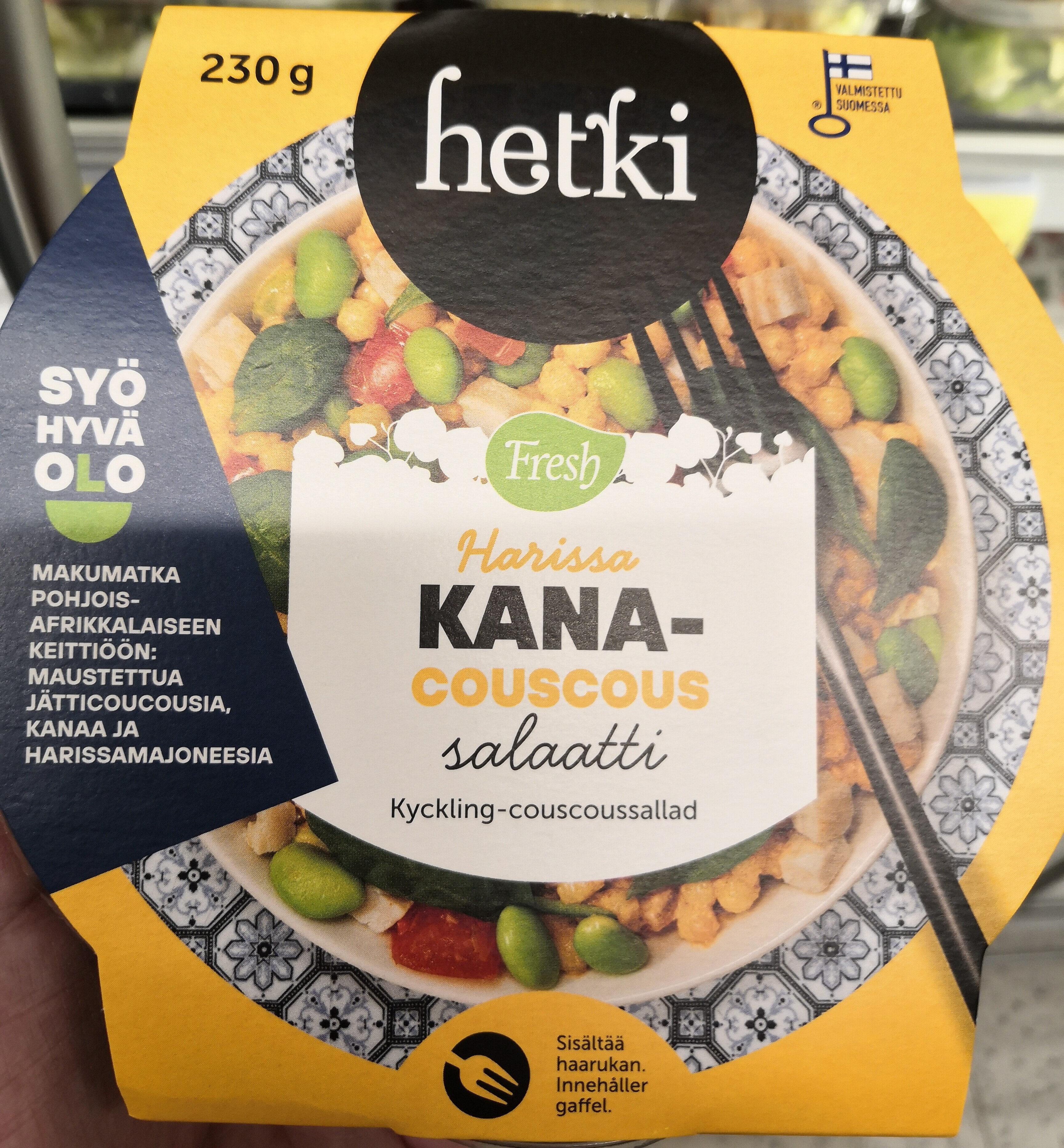 Harissa Kana-Couscoussalaatti - Product - fi