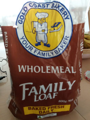 Wholemeal Family Loaf - Product