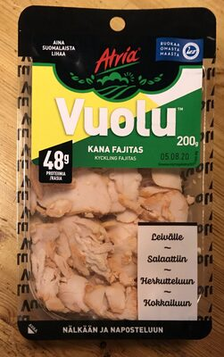 Vuolu Kyckling Fajitas - Tuote - sv