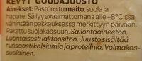 Salaneuvos Kevyempi - Ingrédients - fi