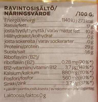 Salaneuvos Kevyempi - Informations nutritionnelles - fi