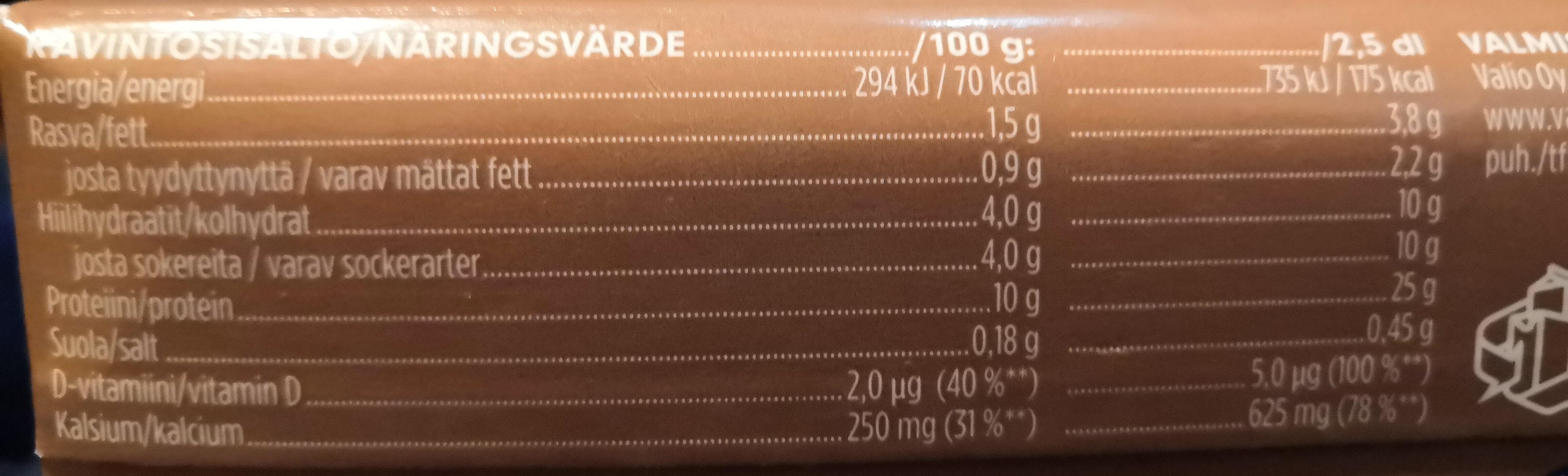 Profeel Proteiinipirtelö - kaakao - Nutrition facts