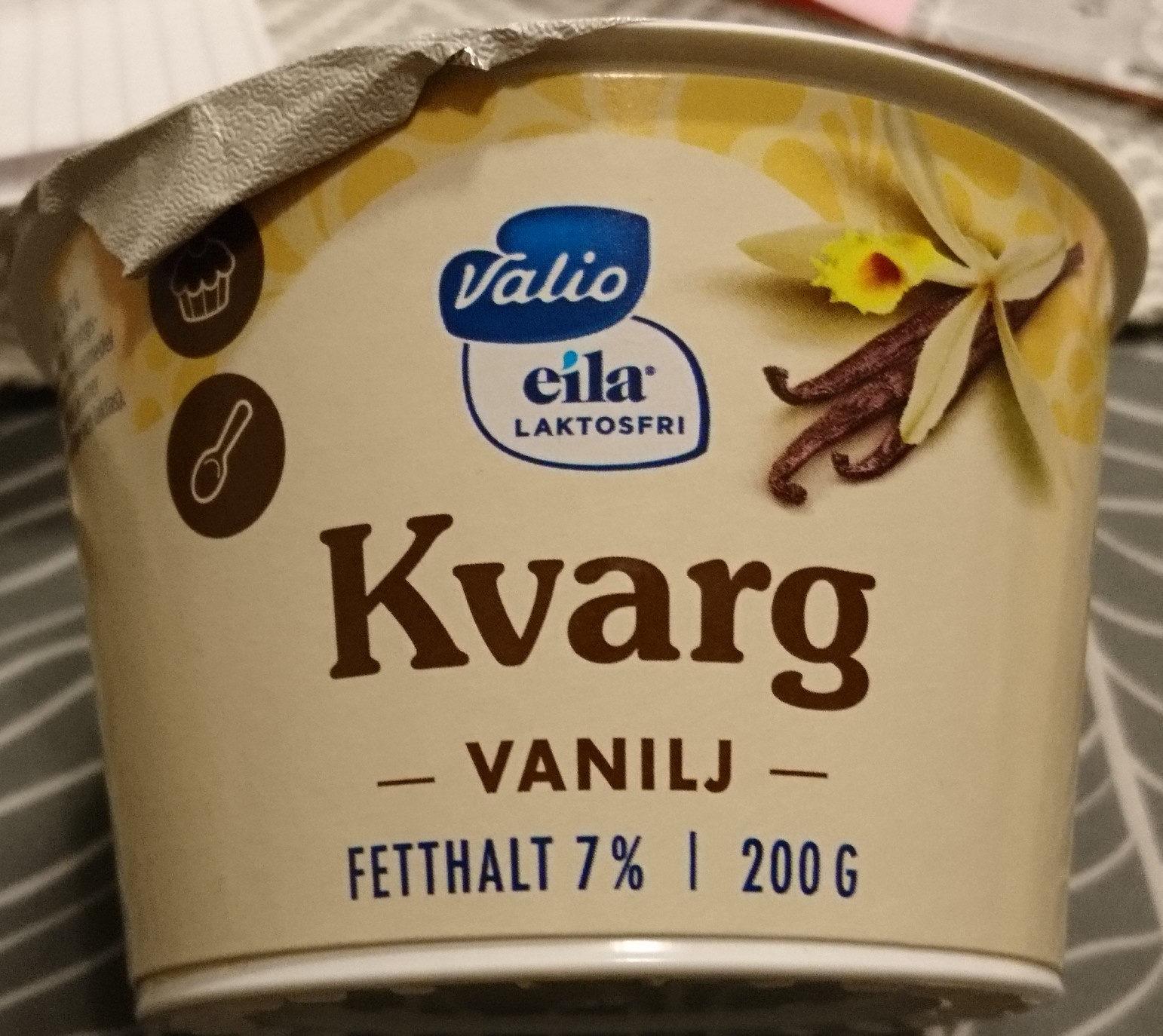 valio kvarg vanilj