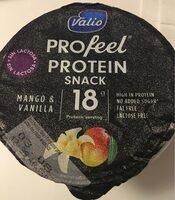 Profeel Mango & Vanilla protein snack - Product - es