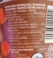 PROfeel PROTEIN PUDDING CARAMEL - Información nutricional - es