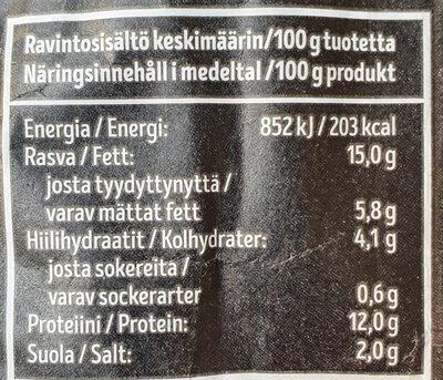 Kauranakki - Ravintosisältö - fi