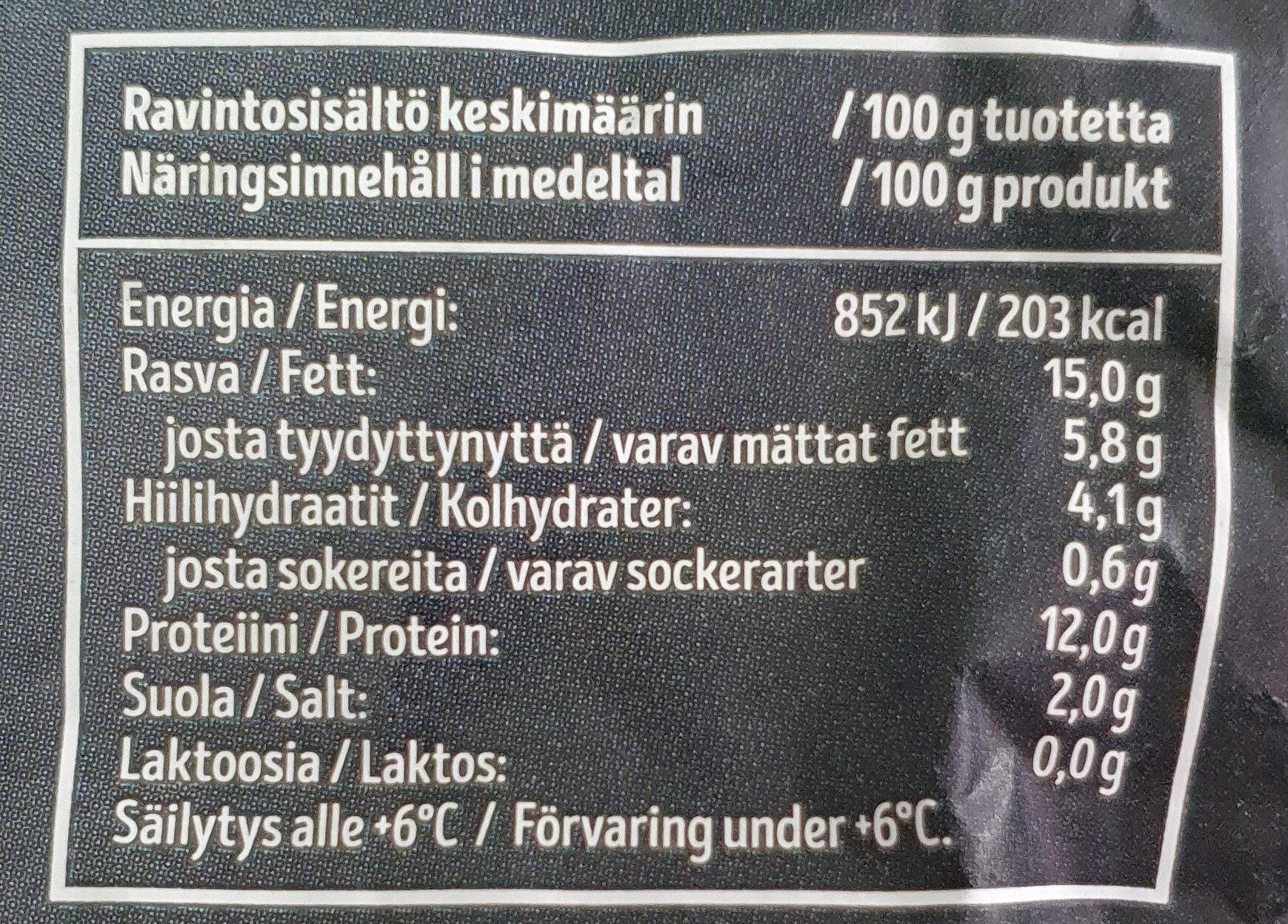 Kauralenkki - Voedingswaarden - fi