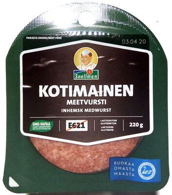 Kotimainen meetvursti - Tuote - fi