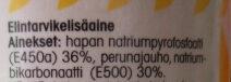 Leivinjauhe - Ingredienti - fi