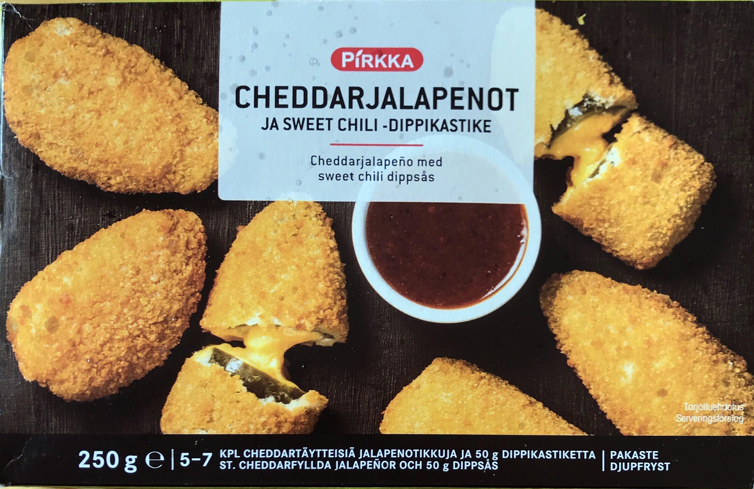 Cheddarjalapeño med sweet chili dippsås - Produit - sv