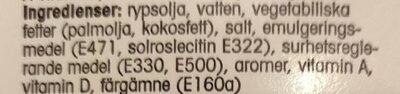 Margariini 60% suolainen - Ingredients