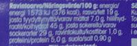 Suklaahippukakku - Voedingswaarden