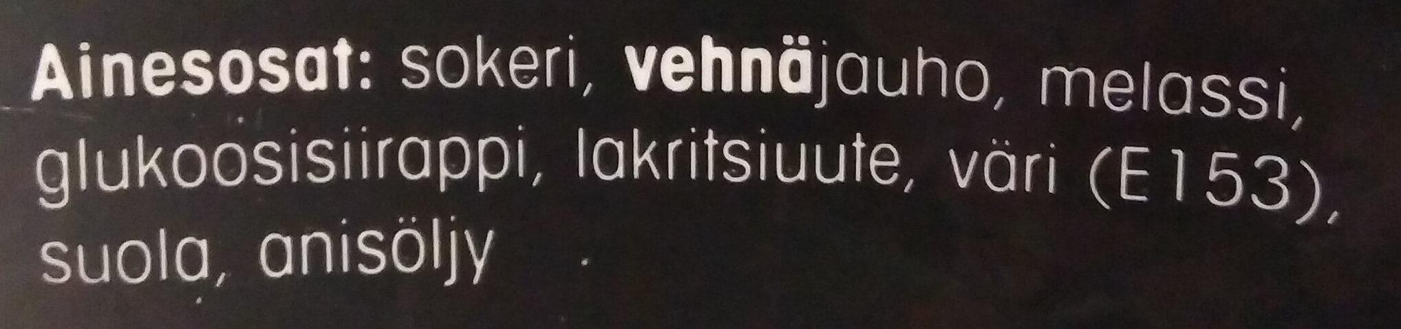 Pehmeä lakritsi - Ingredients - fi