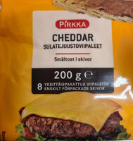 Cheddar sulatejuustoviipaleet - Product - fi