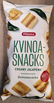 Kvinoa-snacks creamy jalapeno - Produit - fi
