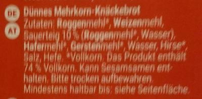 Finn Crisp Mehrkorn - Produit - de