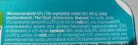 Benecol oliivi - Ingredients