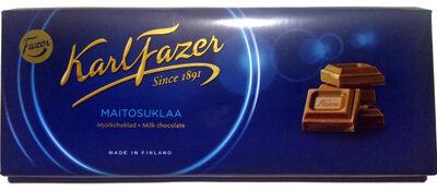 Karl Fazer Milk Chocolate - Tuote - fi