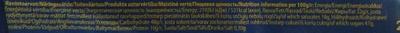 """""""Karl Fazer"""" Молочный шоколад с изюмом и фундуком - Пищевая и энергетическая ценность - ru"""