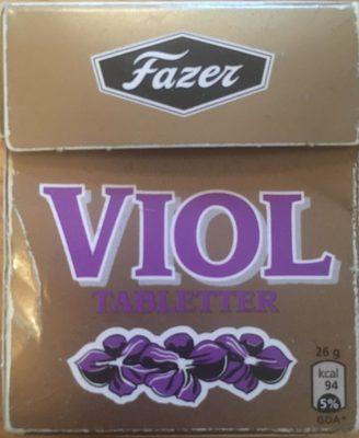 Violtabletter - Produit - sv