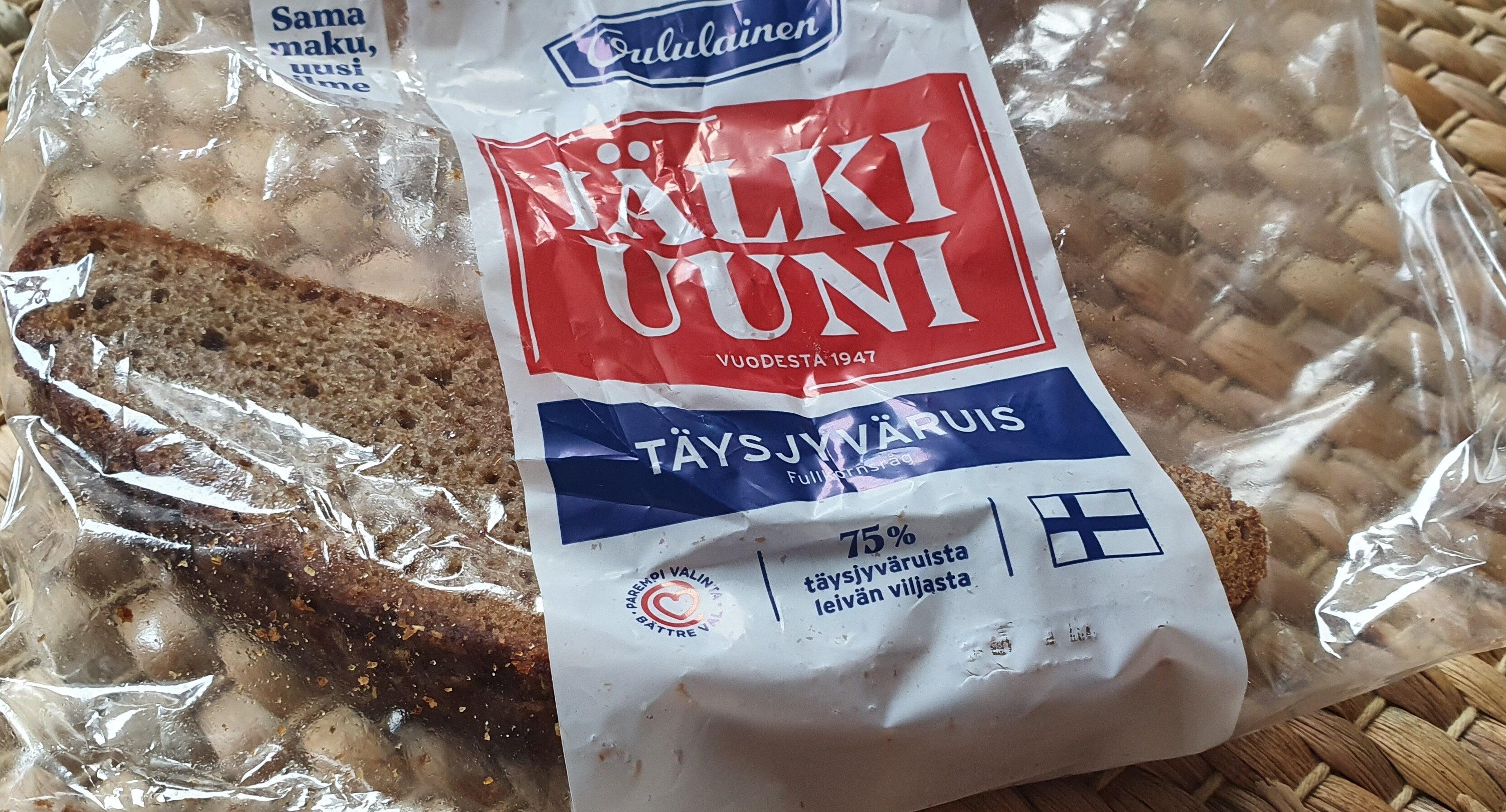 Jälkiuuniviipaleet Täysjyväruisleipä - Produit - fi