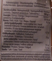 Suklaa Lakumix - Nutrition facts