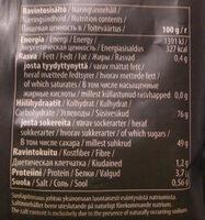 Natural lakritsi - Voedingswaarden - fi