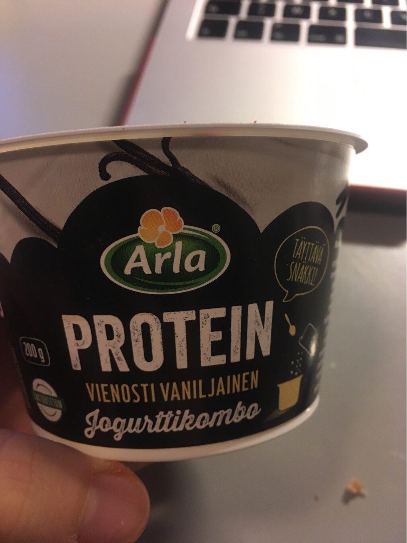 Arla Protein Jogurttikombo Vanilja - Product - fi